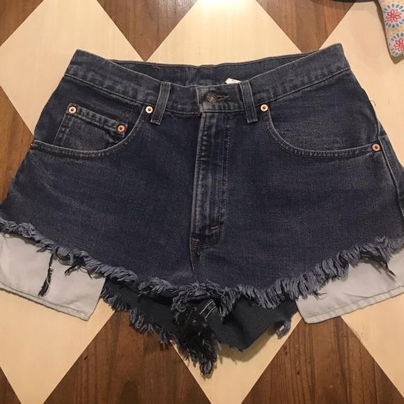 Levi's Pants - High Waisted Levi Shorts